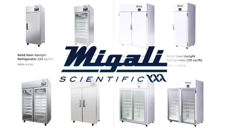 Migali Scientific Refrigeration 3025 Magnet Group Gpo Contracts